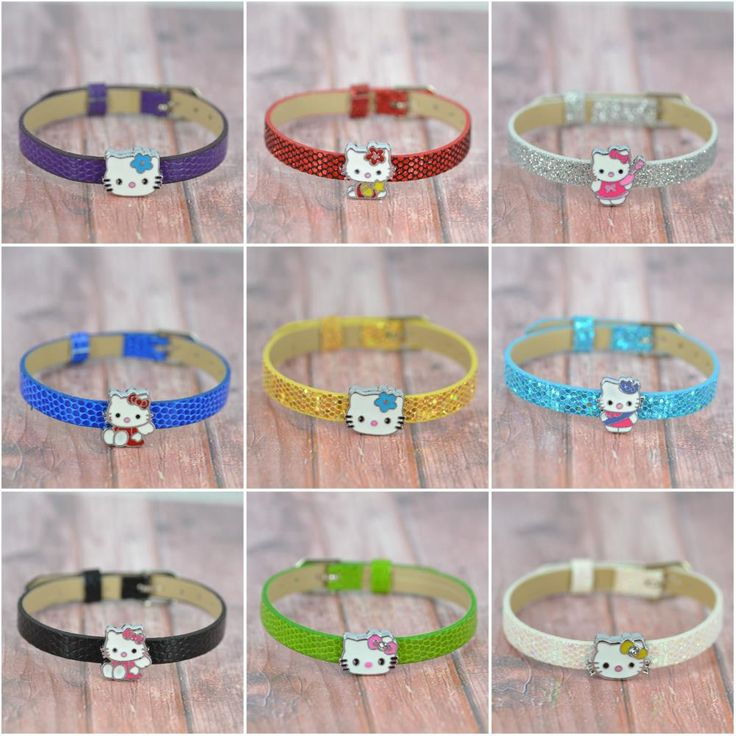 Mix 5 unids Hello Kitty pulsera de DIY moda bisutería pulsera pulseras del encanto del brazalete en joyas en Pulseras de Dijes de Joyería en AliExpress.com   Alibaba Group
