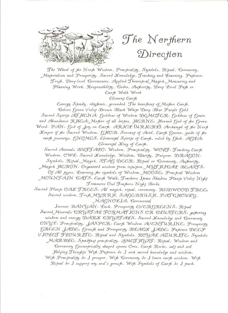 <3 BoS1 - free Book of Shadows pages to save or print - Section One