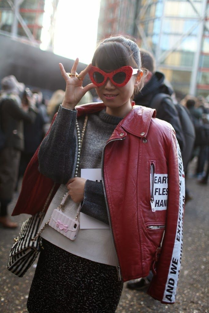 Mis Queridas Fashionistas Street Style London Fashion Week Fall Winter 2014 Street Style
