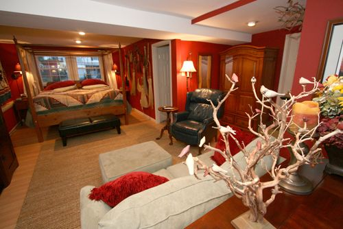 Master Suite In Basement We Moved Into A Rental Split Entry House With Very Small Upstairs