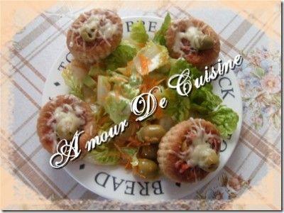 """vols au vent a la bolognaise """"طاير في الريح"""" - blog 1 amour de cuisine algerienne chez soulef"""