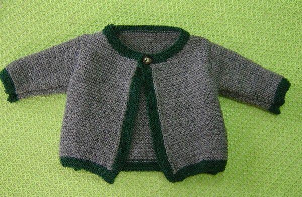 Strick Deinem Kind // Enkelkind jetzt gleich eine schöne Babyjacke // Trachtenjacke. Macht richtig was her und wärmt auch sehr gut. Probiers gleich mal aus.