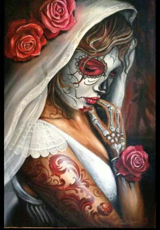 Sugar skull bride <3