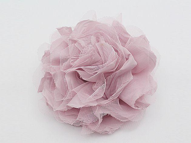 fiore di raso corpetto pin spilla di violetcloset su DaWanda.com