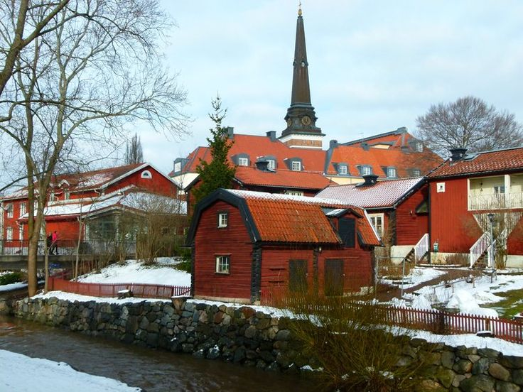 visit stockholm in winter - day trip to Vasteras