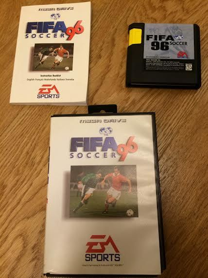 Fifa soccer 96 mega drive originale completo -  - Deluso dai mondiali? Rifatti con questo introvabile gioco da collezione! Completo di libretto e funzionante