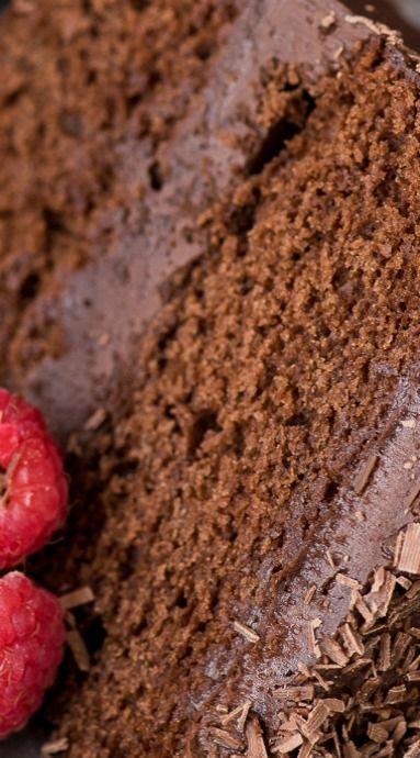 Chocolate Velvet Cake | Posted By: DebbieNet.com