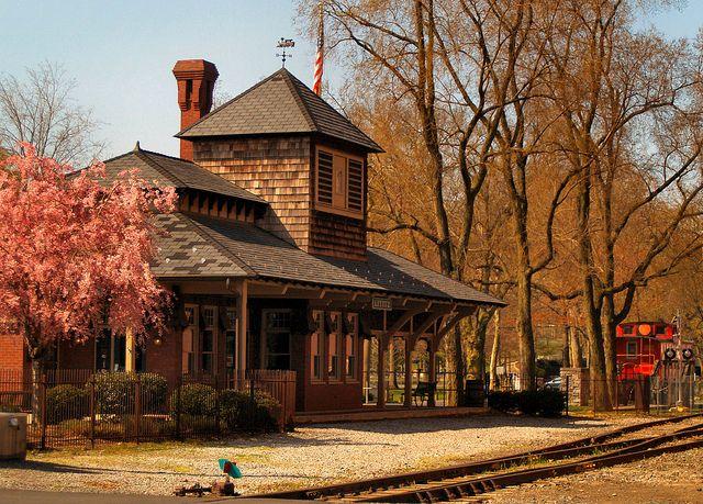Lititz, PA Train Station by fundraz34, via Flickr