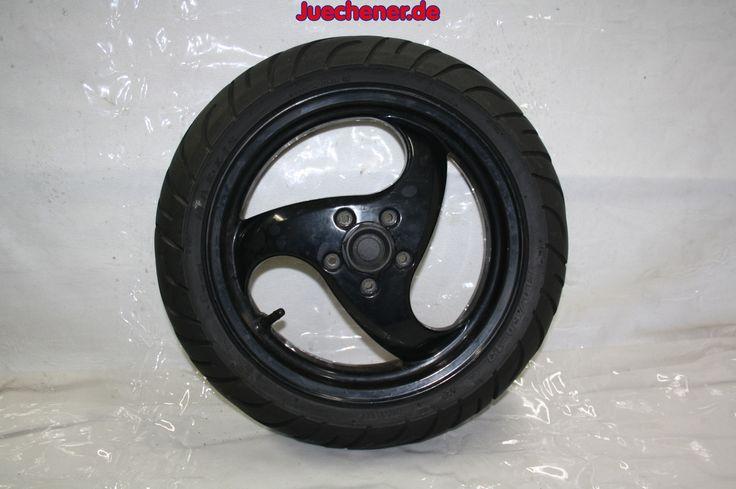 Piaggio NRG Hinterrad schwarz Felge Reifen  #Felge #Hinterrad #Rad #Reifen