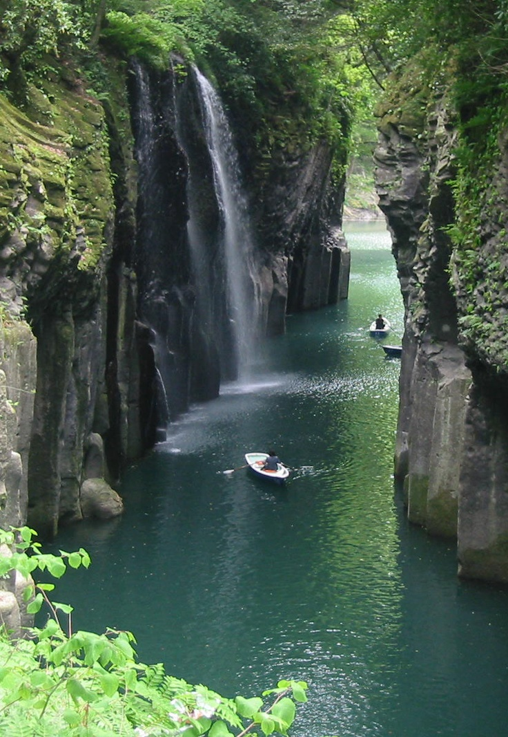 See More | Takachiho, Japan - omg kayaking around waterfalls!! First, let's go!!