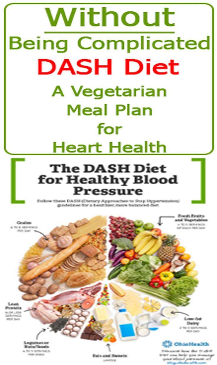 #Dash #Diet:A #Vegetarian #Meal #Plan #for #Heart #Health