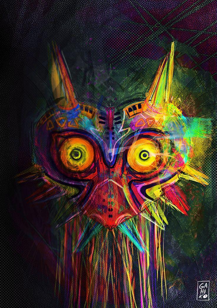 denlArt — Legend of Zelda: Majora's Mask - Created by Gahiko