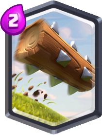 Carta O Tronco de Clash Royale