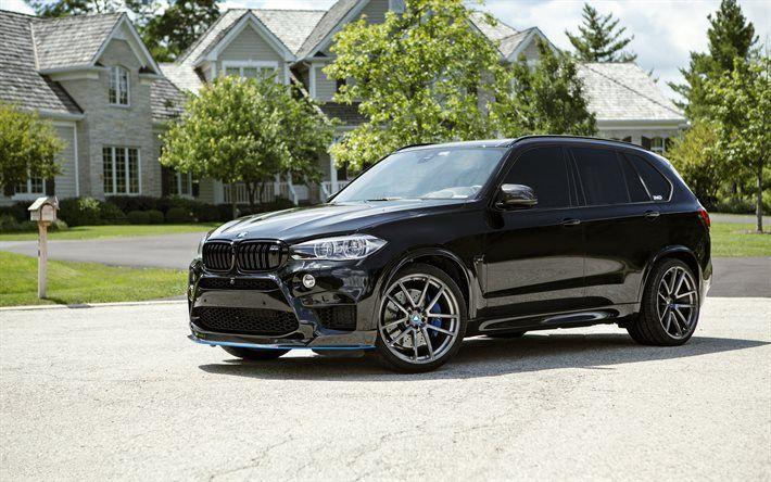 BMW X5M, 2016, IND, tuning, F85, black x5
