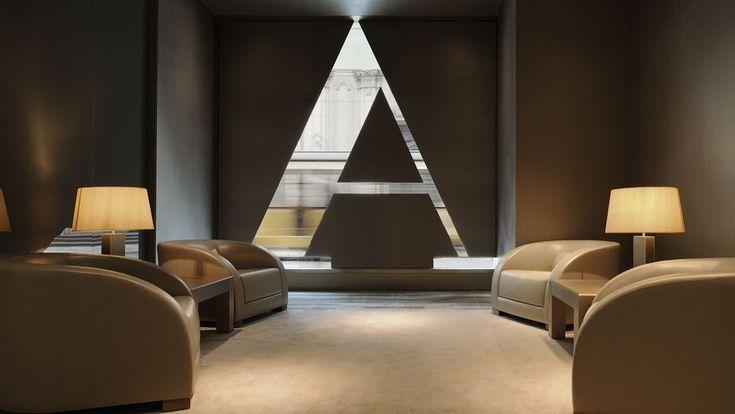 Armani Hotel Milano  Milan, Italy- Fashion Designer Hotel