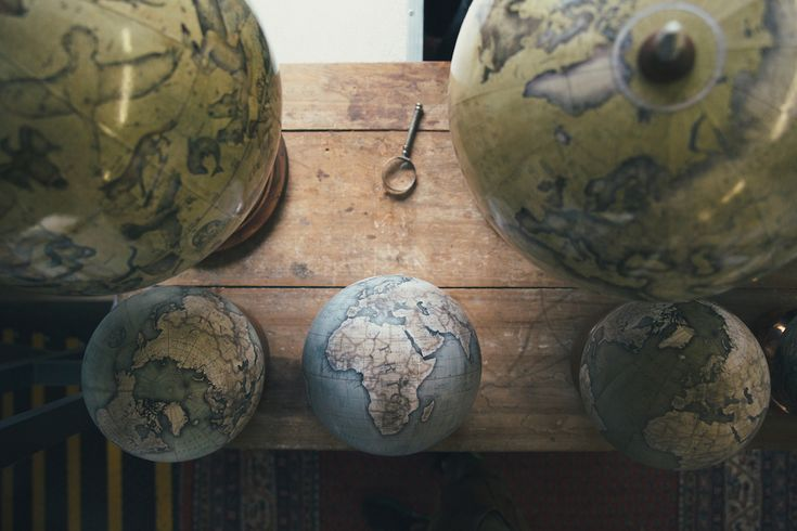 A Visit Inside One of the Only Hand-crafted Globe Studios in the World