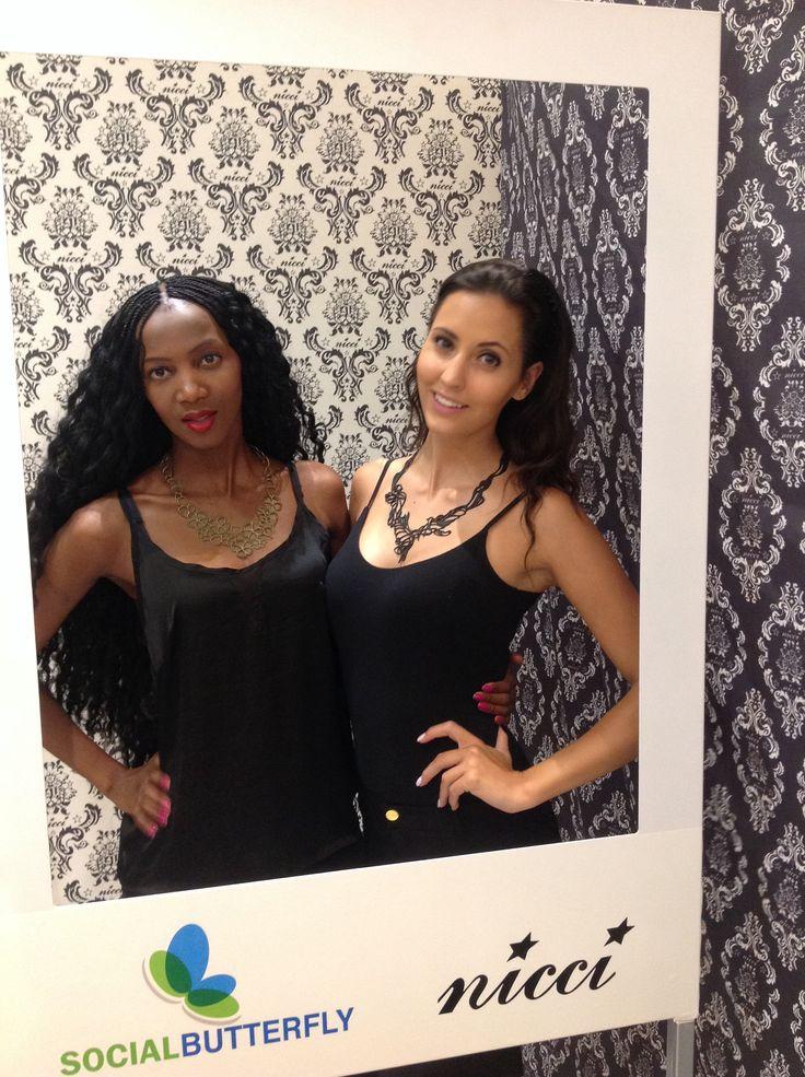 Batucada models at the #NicciWinter14 Launch