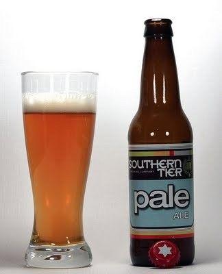 Cerveja Southern Tier Pale, estilo American Pale Ale, produzida por Southerntier Brewing, Estados Unidos. 6.1% ABV de álcool.