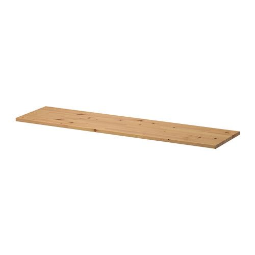 IKEA - EKBY HEMNES, Shelf, light brown, , Solid wood is a durable natural material.