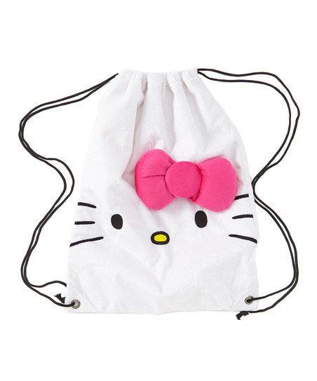 HK |❣| HELLO KITTY Loungefly Drawstring Backpack