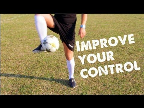 How to Improve your control/1st touch in football - Learn to play Soccer - STRskillSchool - YouTube