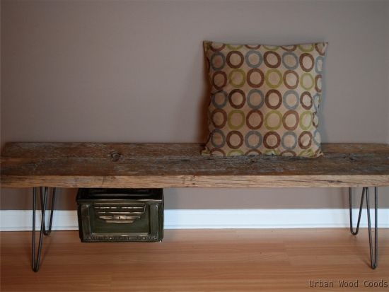 Wood Craft Bench