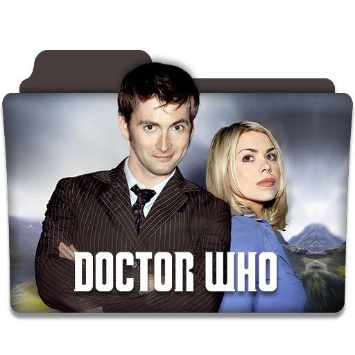 Doctor Who : TV Series Folder Icon v4 by DYIDDO.deviantart.com on @DeviantArt