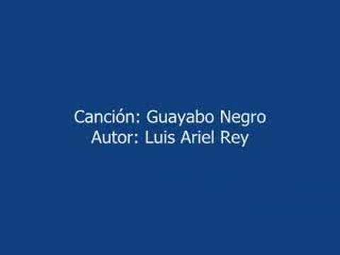 GUAYABO NEGRO  -- MUSICA COLOMBIANA -- LUIS ARIEL REY
