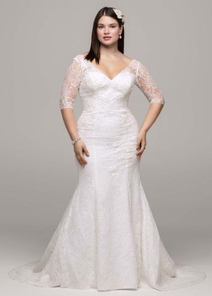 73 best Plus size wedding dresses images on Pinterest