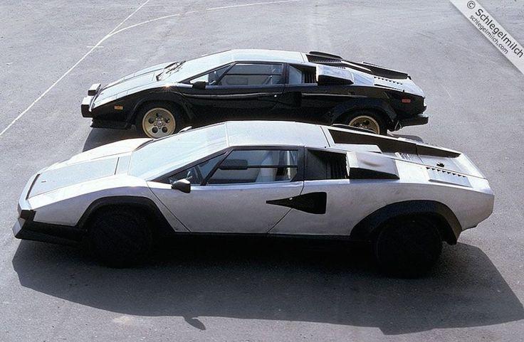 1987 Lamborghini Countach Evoluzione