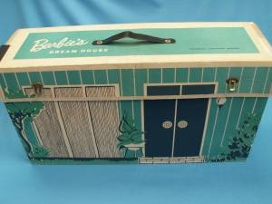 vintage barbie dream house from the 1960s.  originally owned by my aunt, @Christianne Redmond, until my papa brought it down from the attic and let me play with it. boy was she mad!