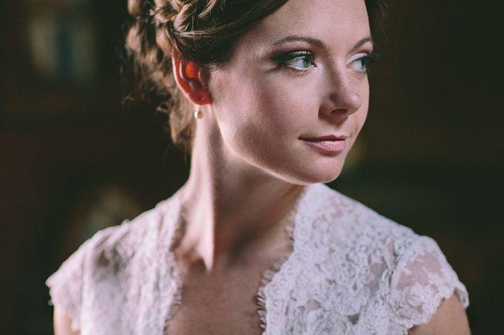 Timeless portrait... Bridal hair & makeup by Antigoni Livieratou. Photo by George Pahountis