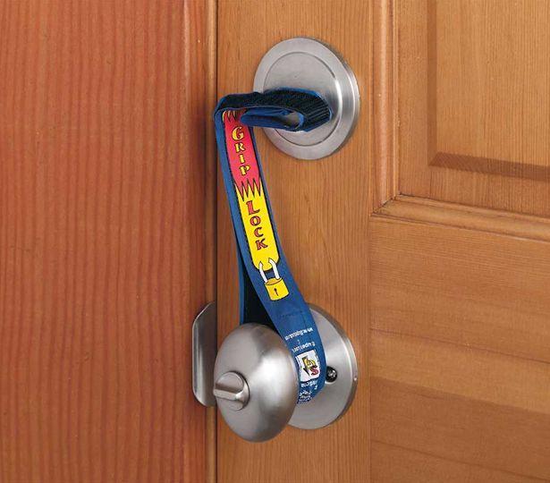 Super Grip Lock Deadbolt Strap .. $9.99.. Check it out http://www.realcoolgadgets.com/super-grip-lock-deadbolt-strap/ #DeadboltLock