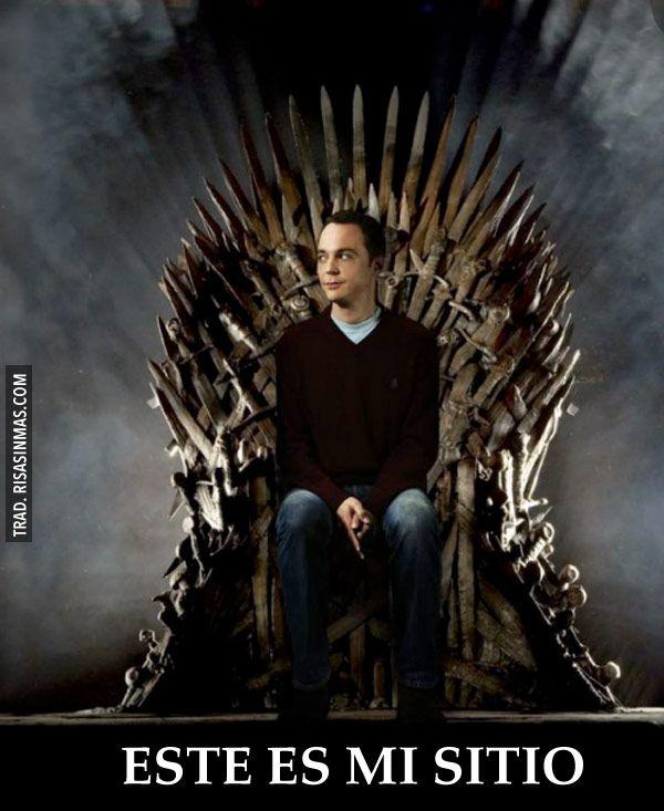 El sitio de Sheldon Cooper