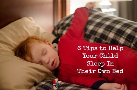 How To Help Your Child Sleep In Their Own Bed