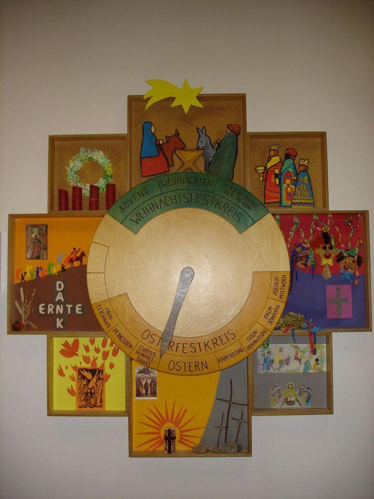 Unsere Kirchenjahresuhr