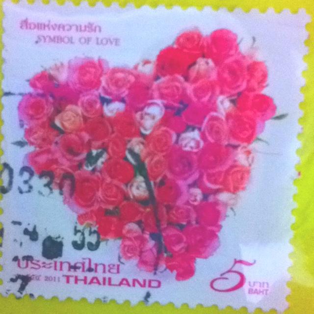 Rose heart, Thailand