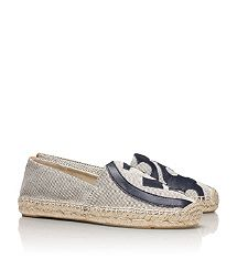 Visit Tory Burch to shop for Lonnie Flat Espadrille and more Womens  Espadrilles. Find designer shoes, handbags, clothing & more of this  season's latest ...