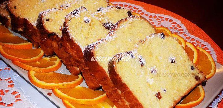 3 fonatos mazsolás narancsos kalács - 1 dl tej, 1 kk cukor, 2 dkg élesztő, 30 dkg finomliszt, 30 dkg rétesliszt, 1 kk só, 1 bio narancs vagy citrom reszelt héja, 2 dl narancslé vagy citromlé, 2 tojás, 6 dkg olvasztott vaj, 10 dkg mazsola vagy kandírozott narancshéj. A kalács tetejét 1 felvert tojással lekenni. Kandírozott narancshéjjal is finom!