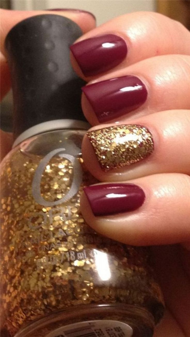 Nail Art Ideas purple and gold nail art : 34 best Matte Nails images on Pinterest | Black pedicure, Braids ...