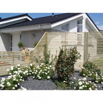 STAKET TRYCKIMPREGNERAT TOKYO 83X180CM - Staket & Grindar - Staket & Vindskydd - Trädgårdsmiljö - Utemiljö
