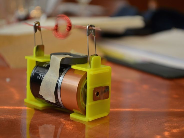 Students forge a hypothesis about how motors make things move, and then build a simple electric motor using wire, a magnet, and a D cell battery to explore how motors convert electrical energy into mechanical energy.