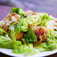 Caesar Salad recipe without the raw egg