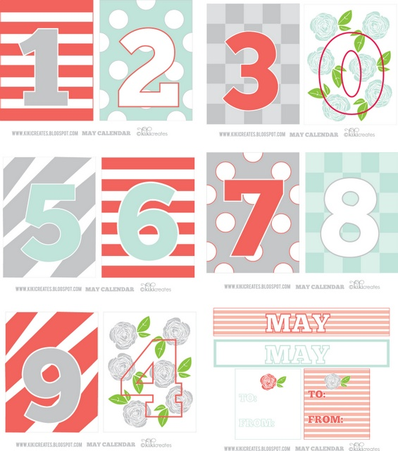 May Calendar Numbers : Best images about printable on