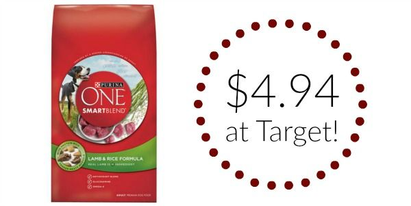 Target: Purina ONE Dog Food Only $4.94!