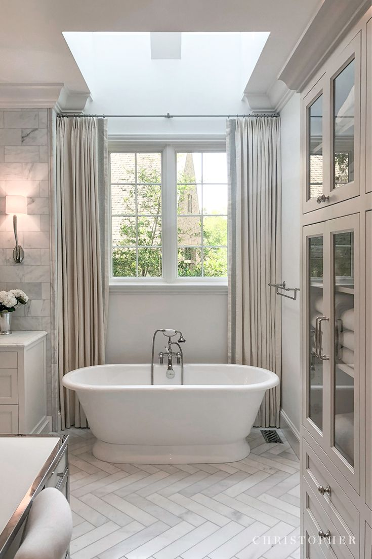 Christopher Architecture And Interios Glamorous Bathroom Classic Bathroom Free Standing Bath Tub
