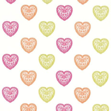Harlequin Sweet Heart Fabric 130756 Designer Fabrics and Wallpapers by Sanderson, Harlequin, Morris, Osborne, Little And many more