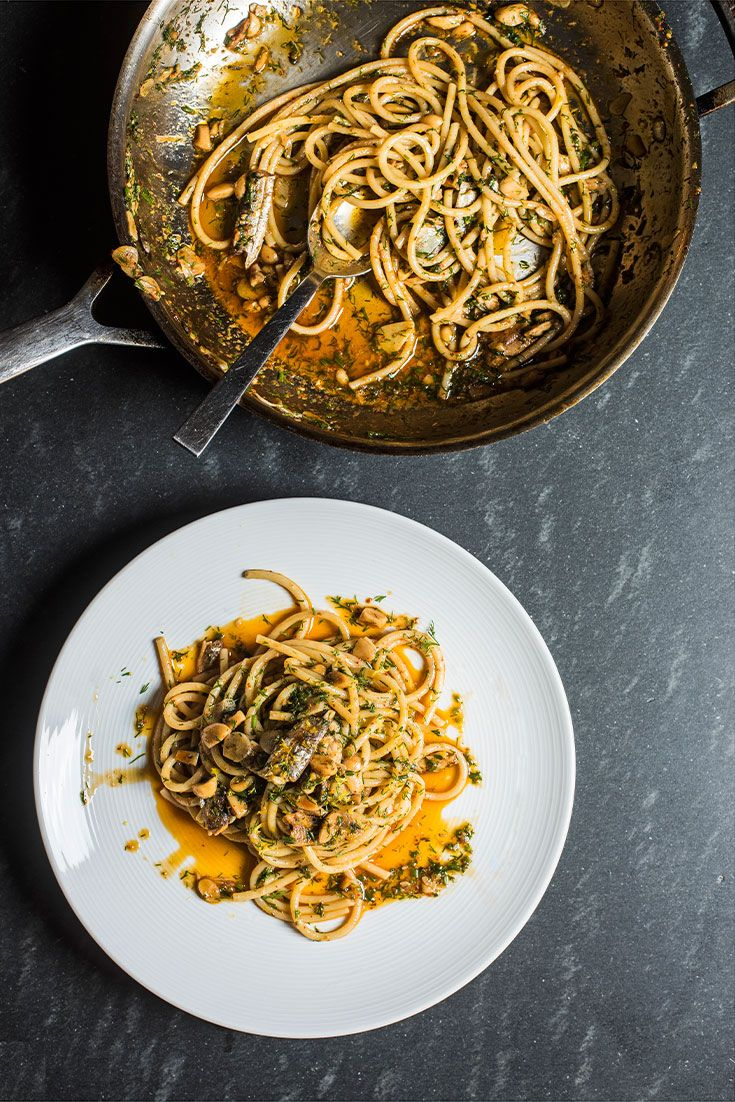 Pasta and tin fish recipes