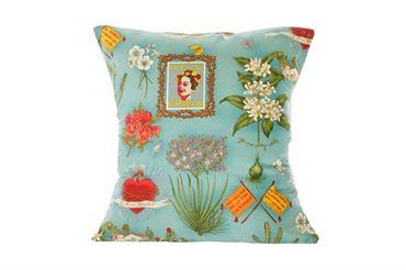 Viva La Frida - cushion (blue)