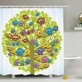 Found it at Wayfair.ca - Kids Decor Canary Bird Family Shower Curtain Set